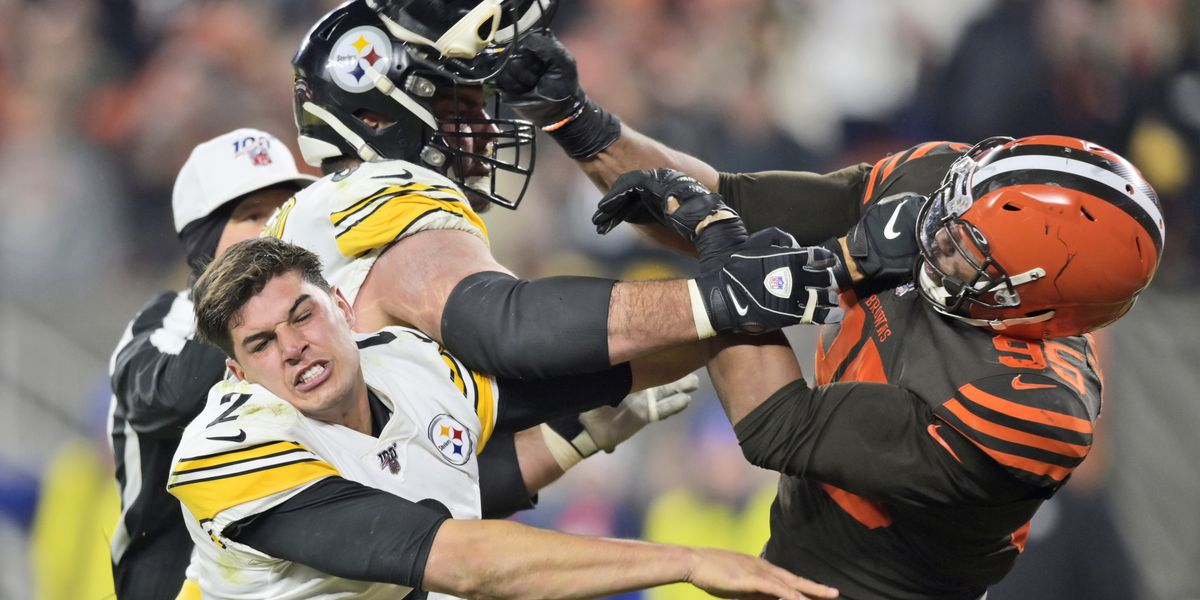 Mason Rudolph calls Myles Garrett's allegations of using 'N-word' during on-field fight a 'Bold-Faced Lie'