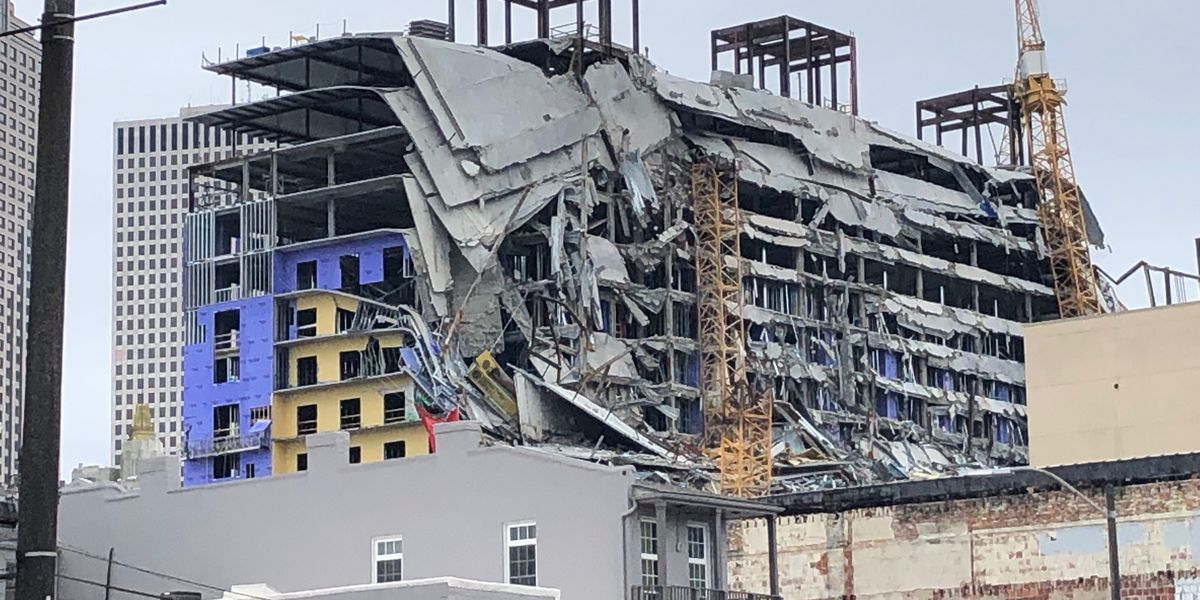 Engineers work to come up with plan to shore up collapsed Hard Rock building