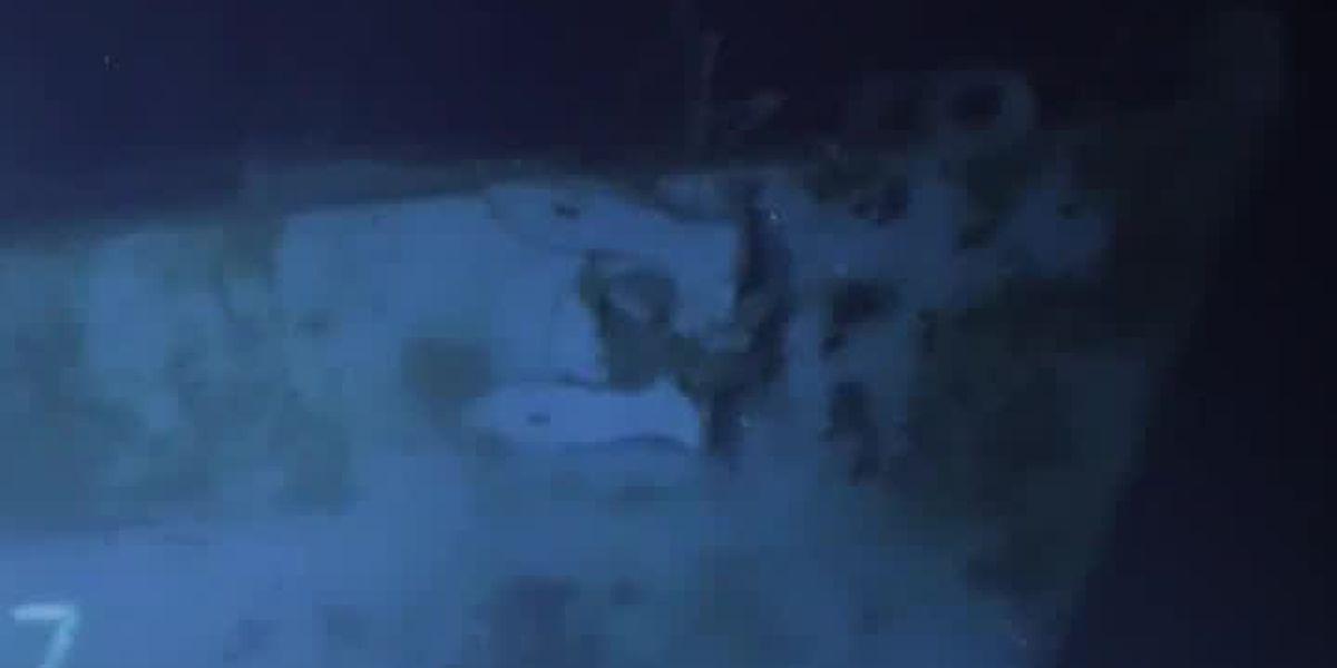 Divers discover World War II Navy ship