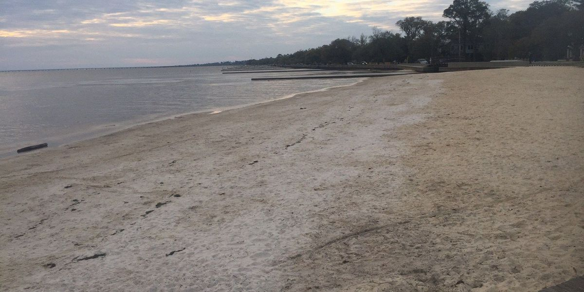 New Mandeville beach is open, but bacteria keeping people out of the water
