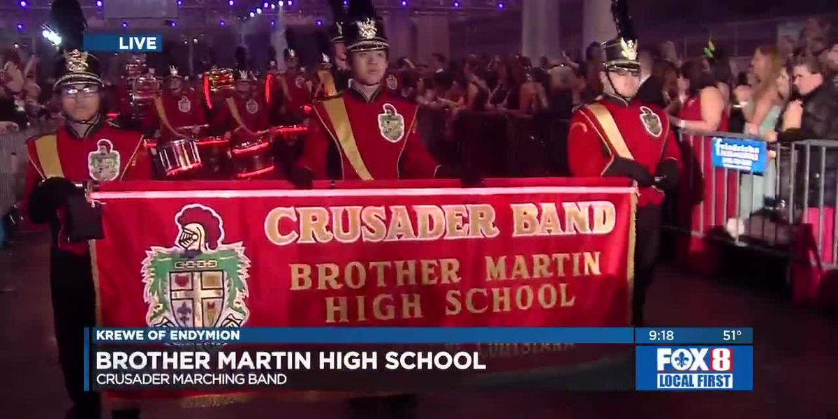 Endymion 2020: St. Mary's Domenican Debs and Brother Martin Marching Band