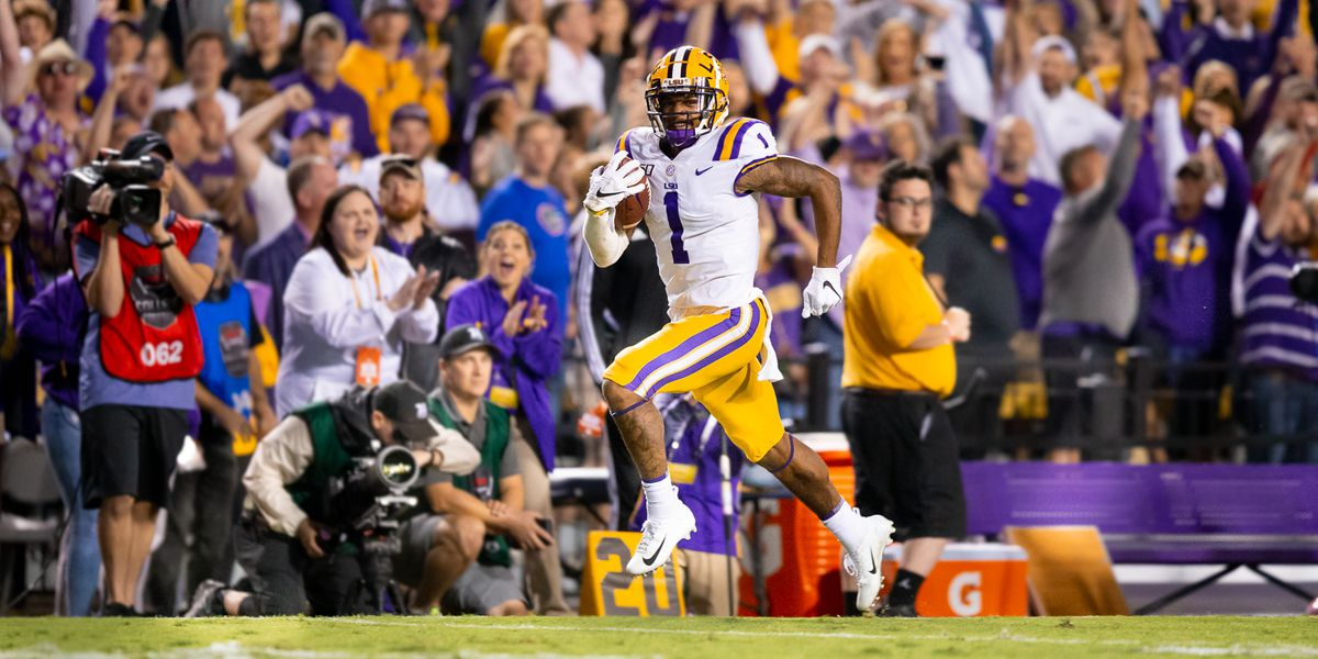 Coach Orgeron attributes 'tremendous energy' by the fans as one of the reasons LSU beat Florida