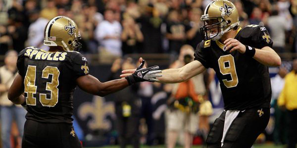 Brees calls former Saint and current Eagle Darren Sproles 'my guy'