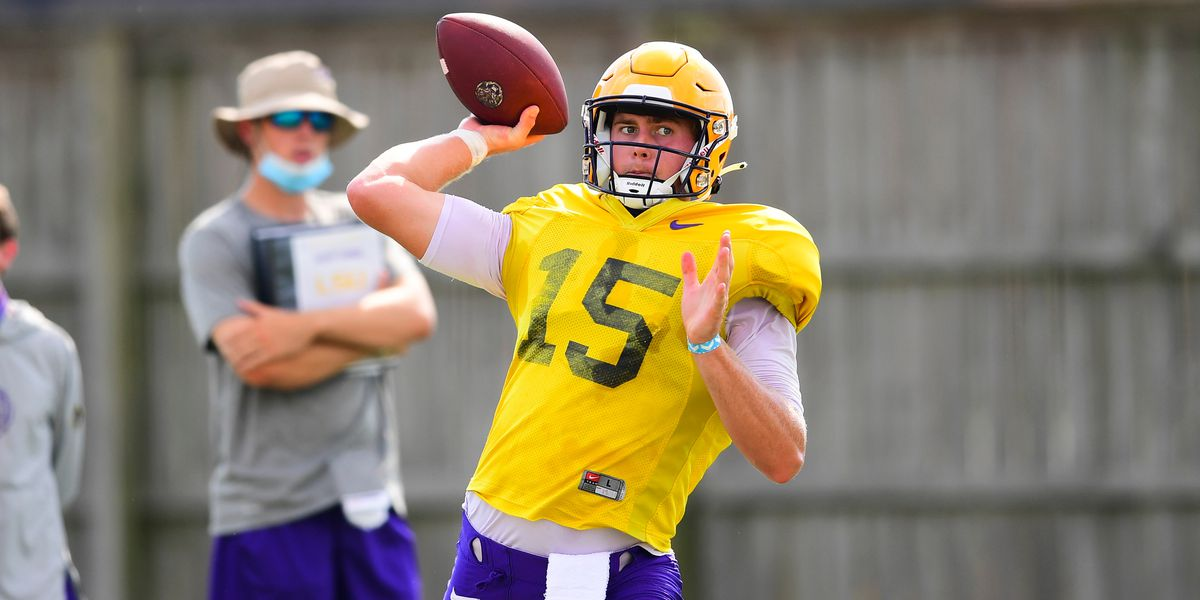 LSU's Brennan, Stevens talk about start of fall camp, as Tigers hit the field for Day 3