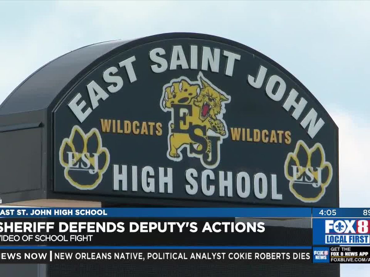 St. John Sheriff defends deputy seen on video carrying a high school student out of cafeteria