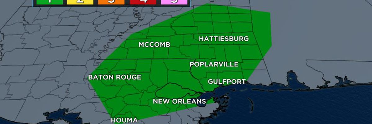 Strong storms and downpours possible Wednesday
