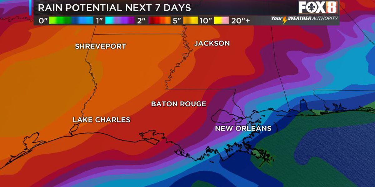 David: Rain chances increase by weekend