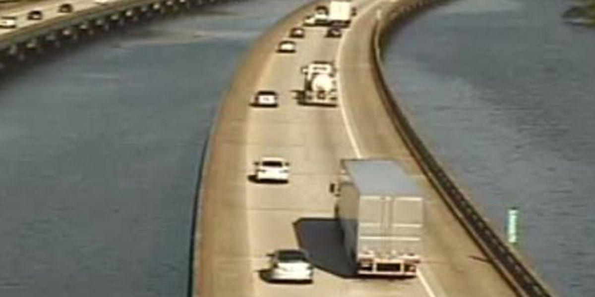 First Alert Traffic: Breakdown shuts I-310 southbound