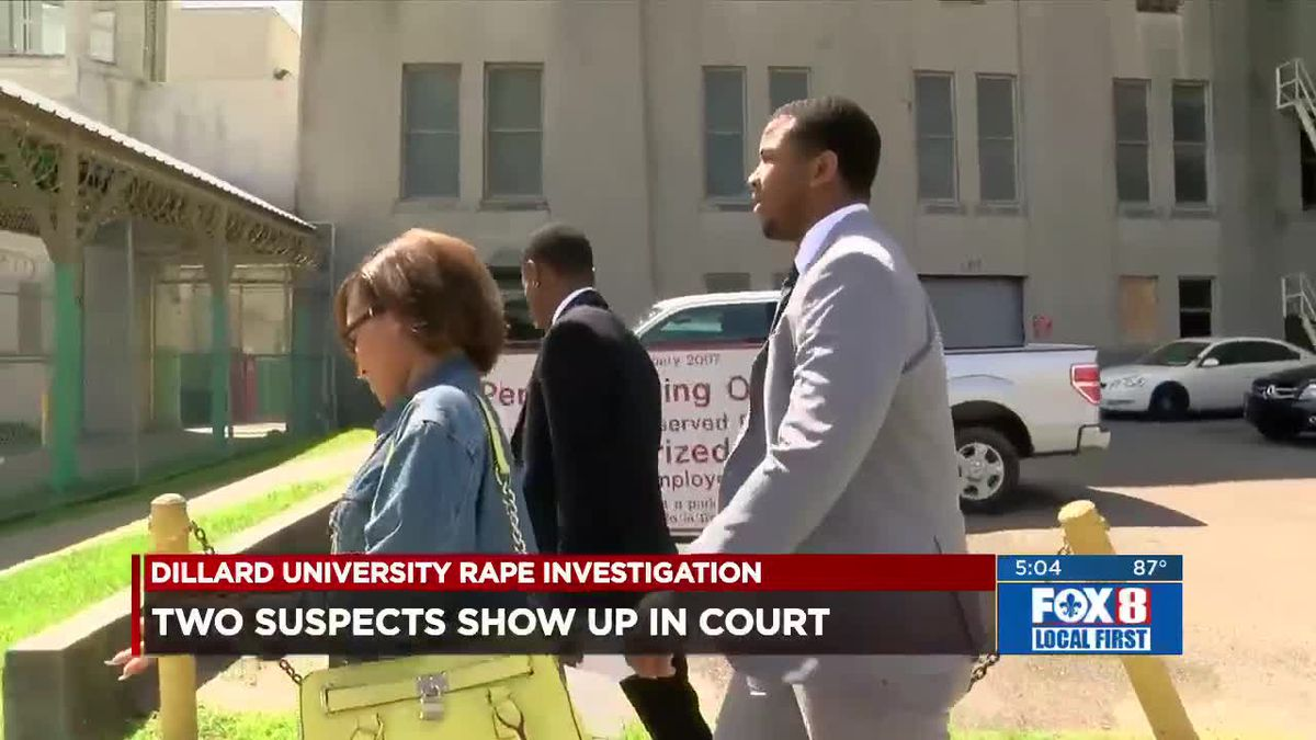 Two students accused of raping woman on campus make court appearance