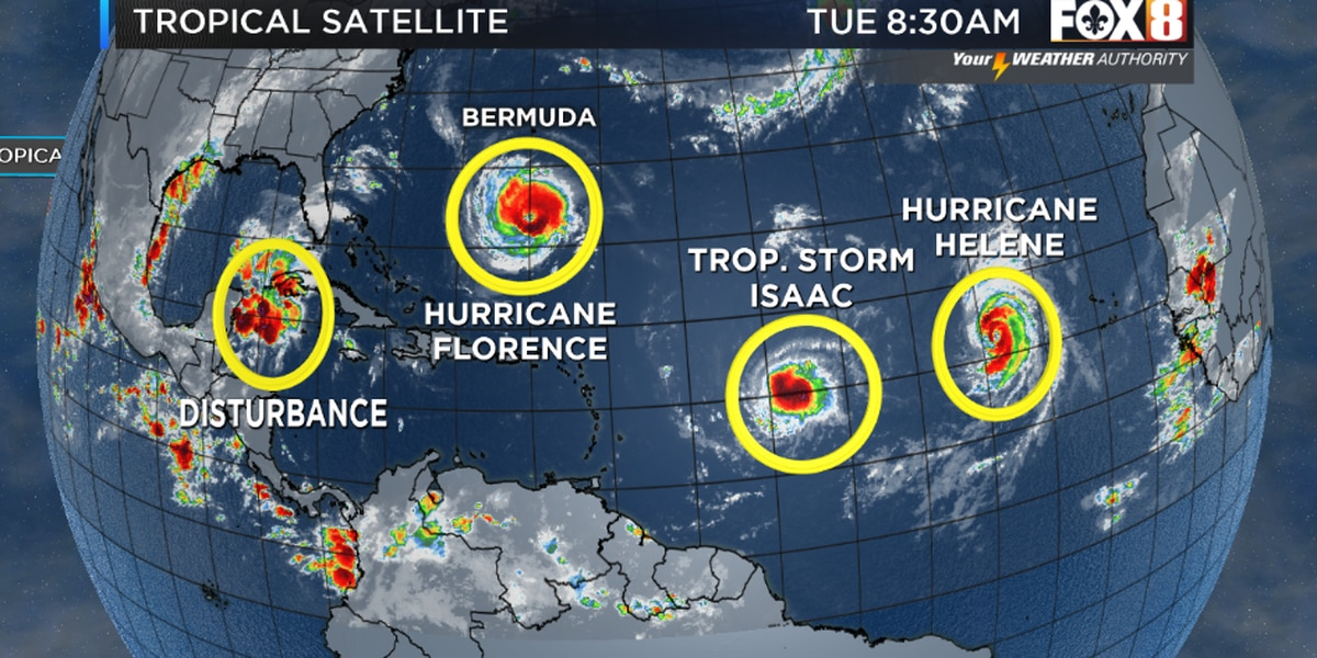 Bruce: The Tropics Remain Very Active