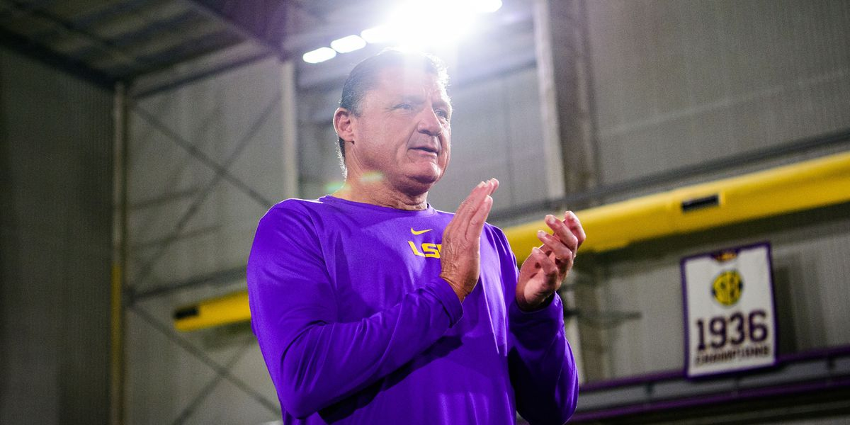 LSU head football coach Ed Orgeron, other officials to testify before La. Senate committee about sexual misconduct reports