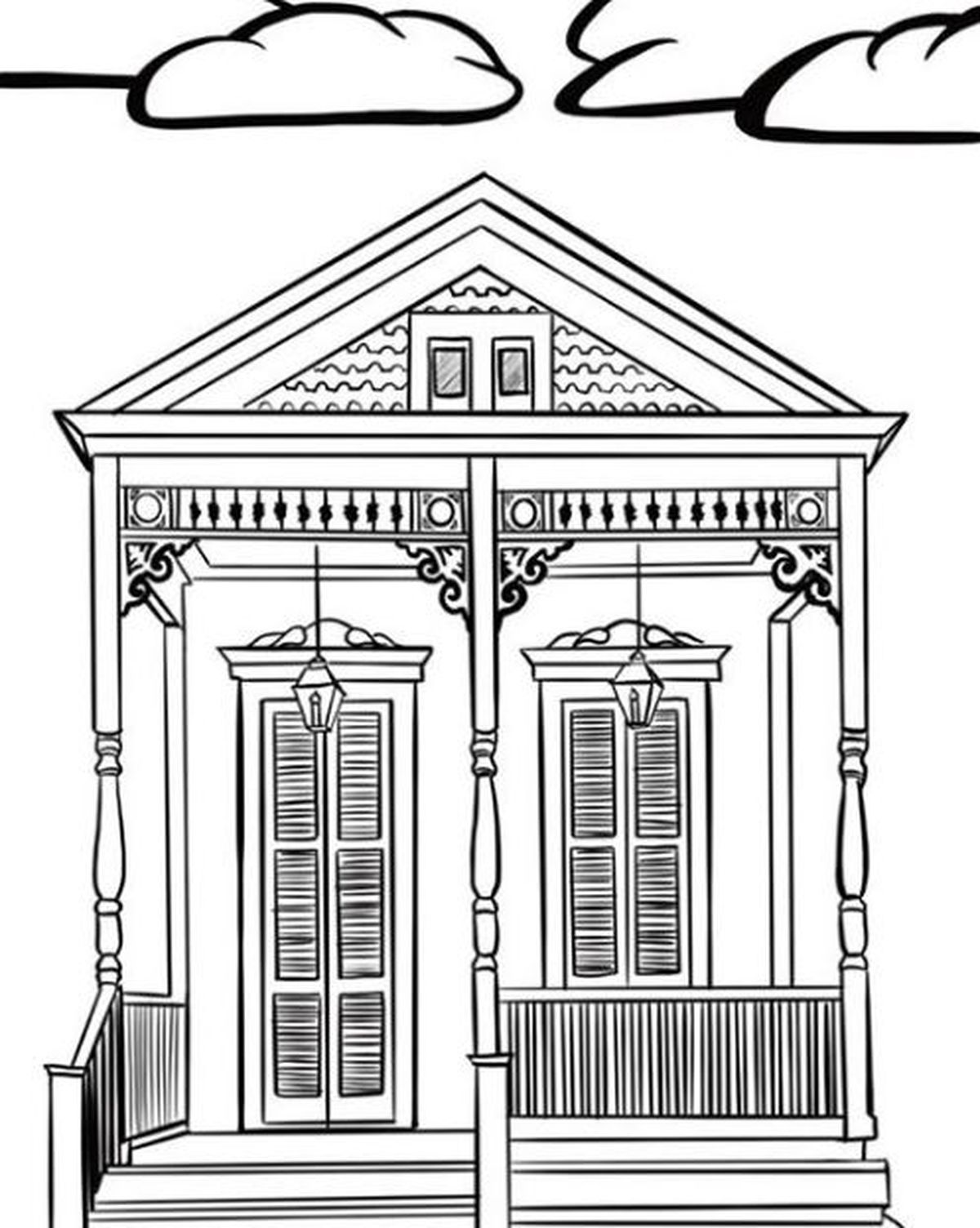 State Of Louisiana coloring page | Free Printable Coloring Pages | 1504x1200