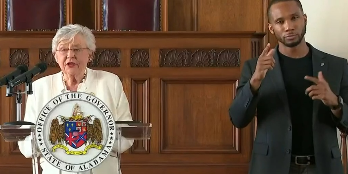 Gov. Ivey extends Safer At Home order until March