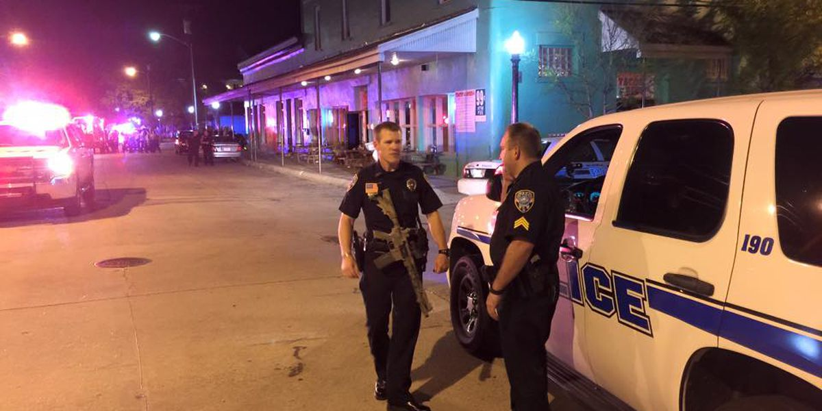 Officer released from hospital, police name suspect in Olde Town shooting