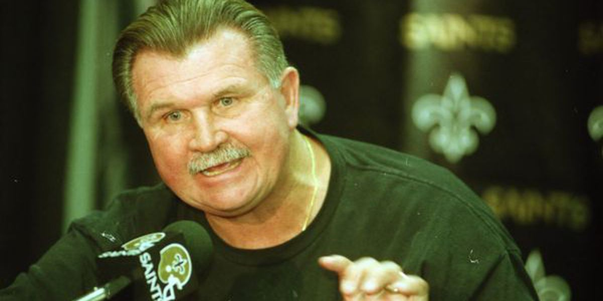 Former Saints head coach Mike Ditka released from hospital after mild heart attack