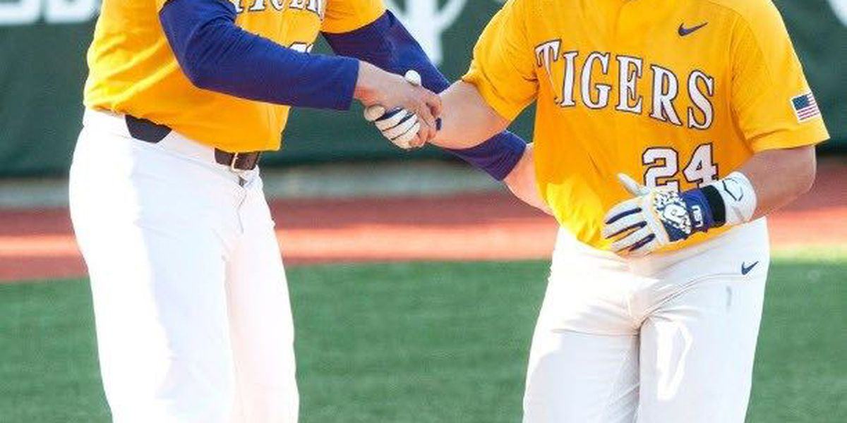 LSU gets 10 hits in home victory over Southeastern Louisiana