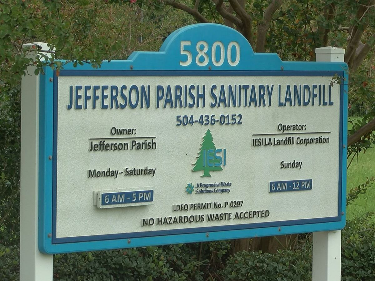 Jefferson Parish president questions need of landfill