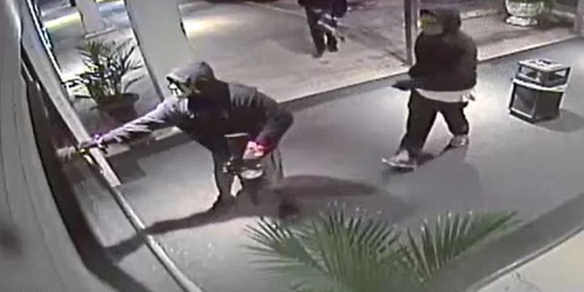 Police release video in Houma casino robbery case