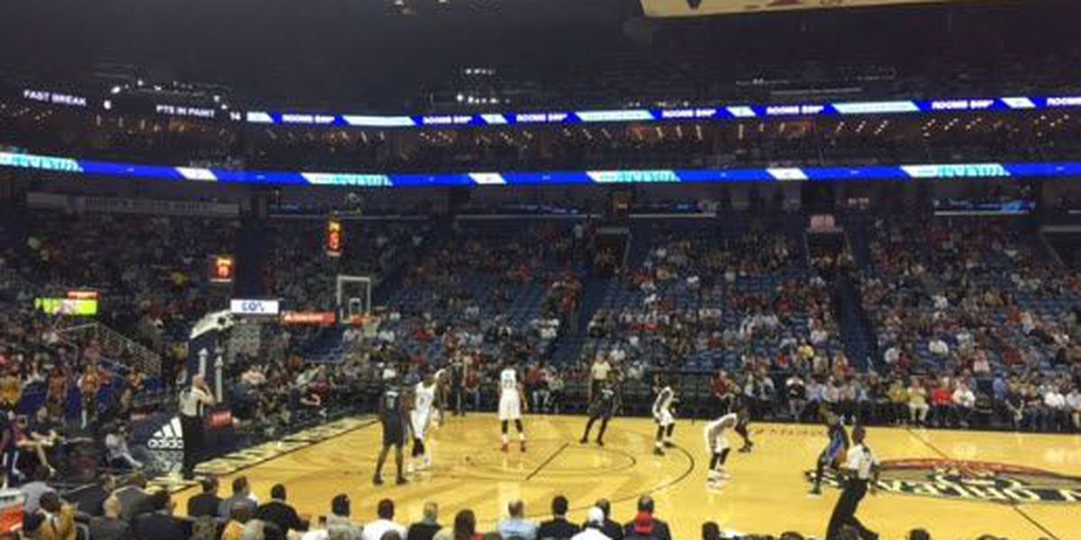 Pelicans get to rest starters in blowout win over Magic