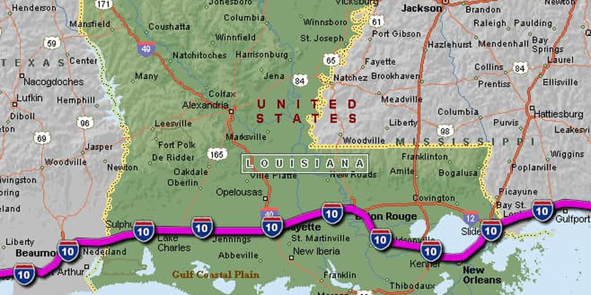 I-10 now open throughout all of Louisiana