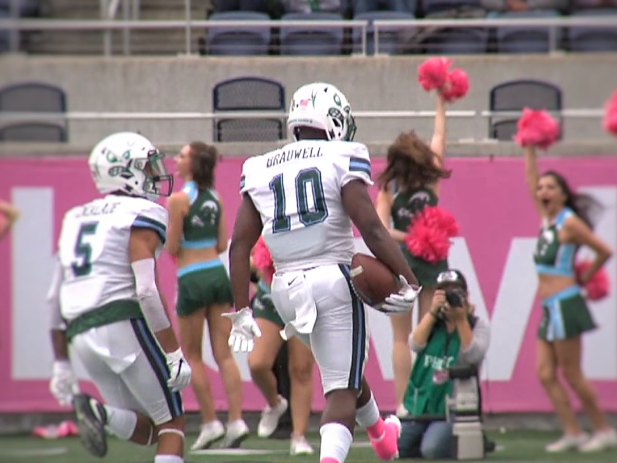 Tulane wins Cure Bowl over Ragin' Cajuns