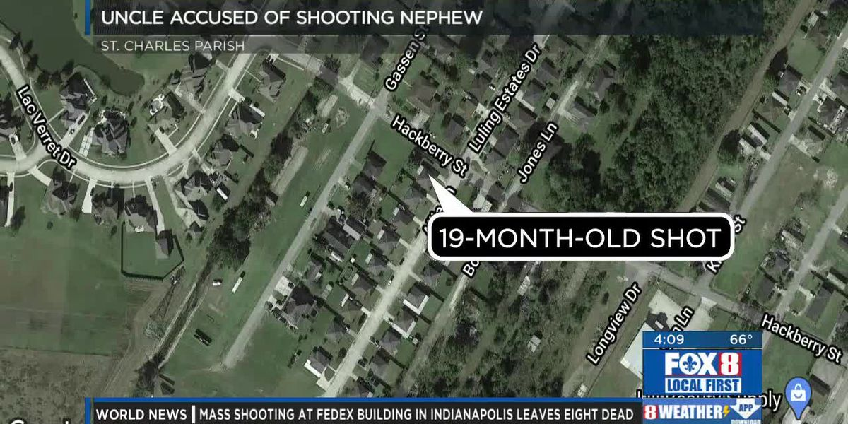 Arrest made in case of a 19-month child shot in St. Charles Parish