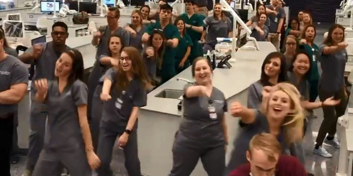 LSU School of Dentistry nails 'In My Fillings' challenge