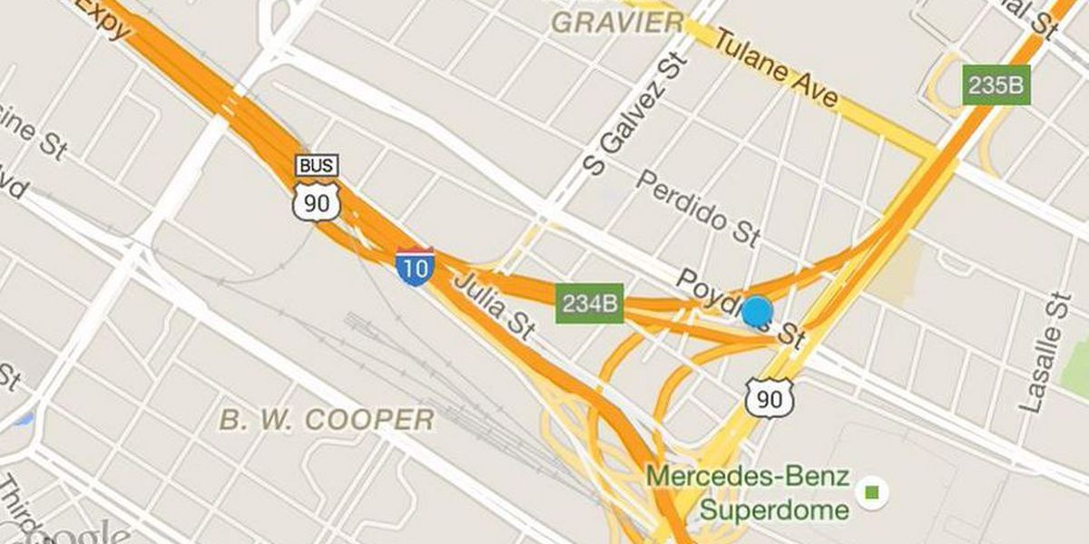 Portion of I-10 west to close Friday night through Monday morning