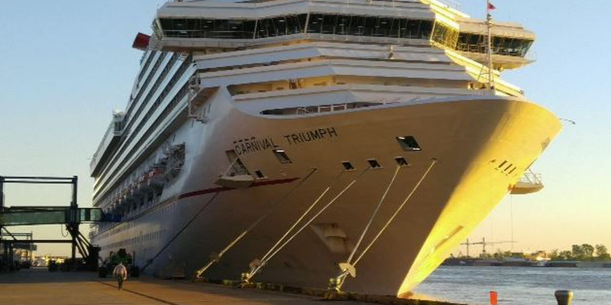 Search underway for woman who fell overboard Carnival Triumph