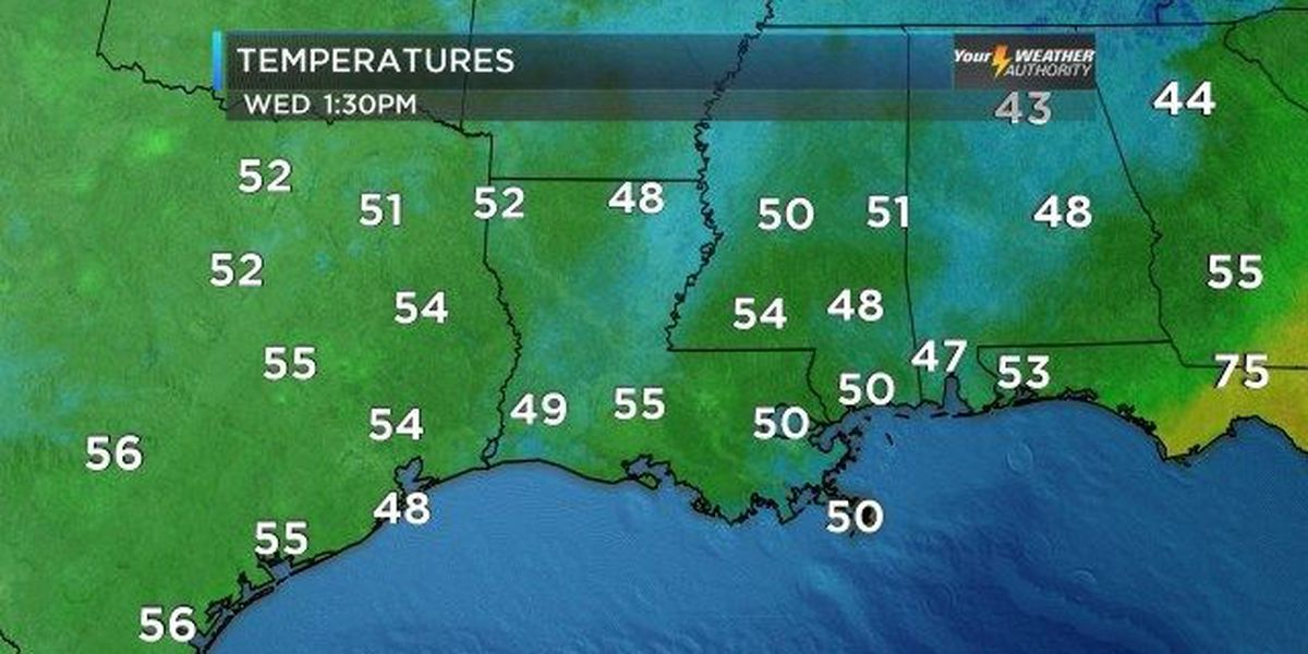 Bruce: Clouds, chilly temps here to stay
