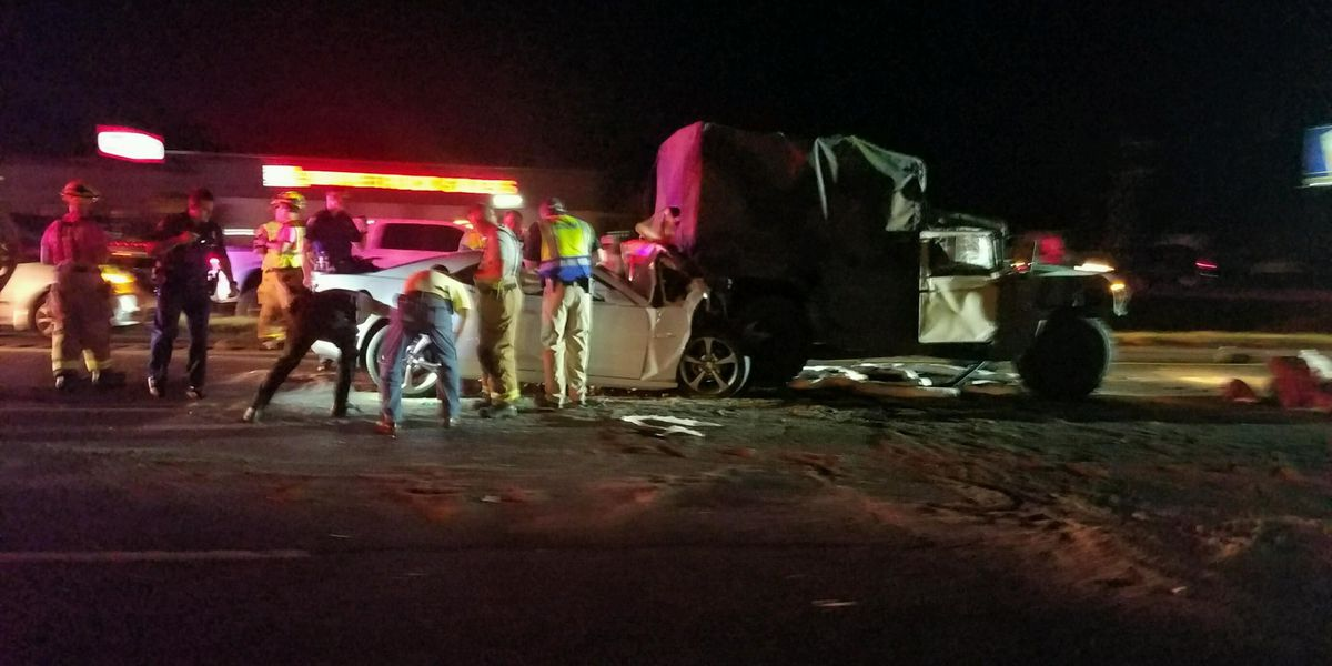 National Guard vehicle involved in fatal crash on I-10