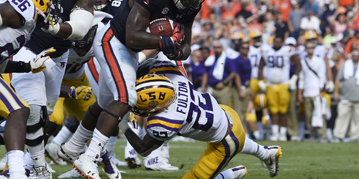 LSU defeats Auburn with late 4th-quarter field goal