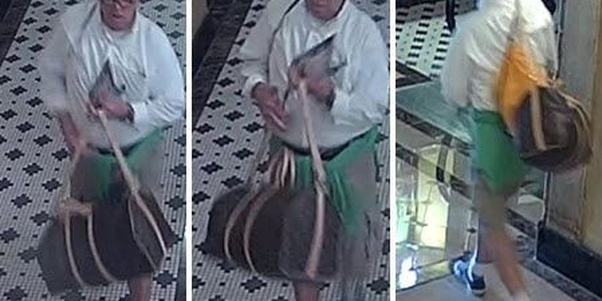 NOPD: Man wanted for stealing bag containing $25,000 of property from Downtown business