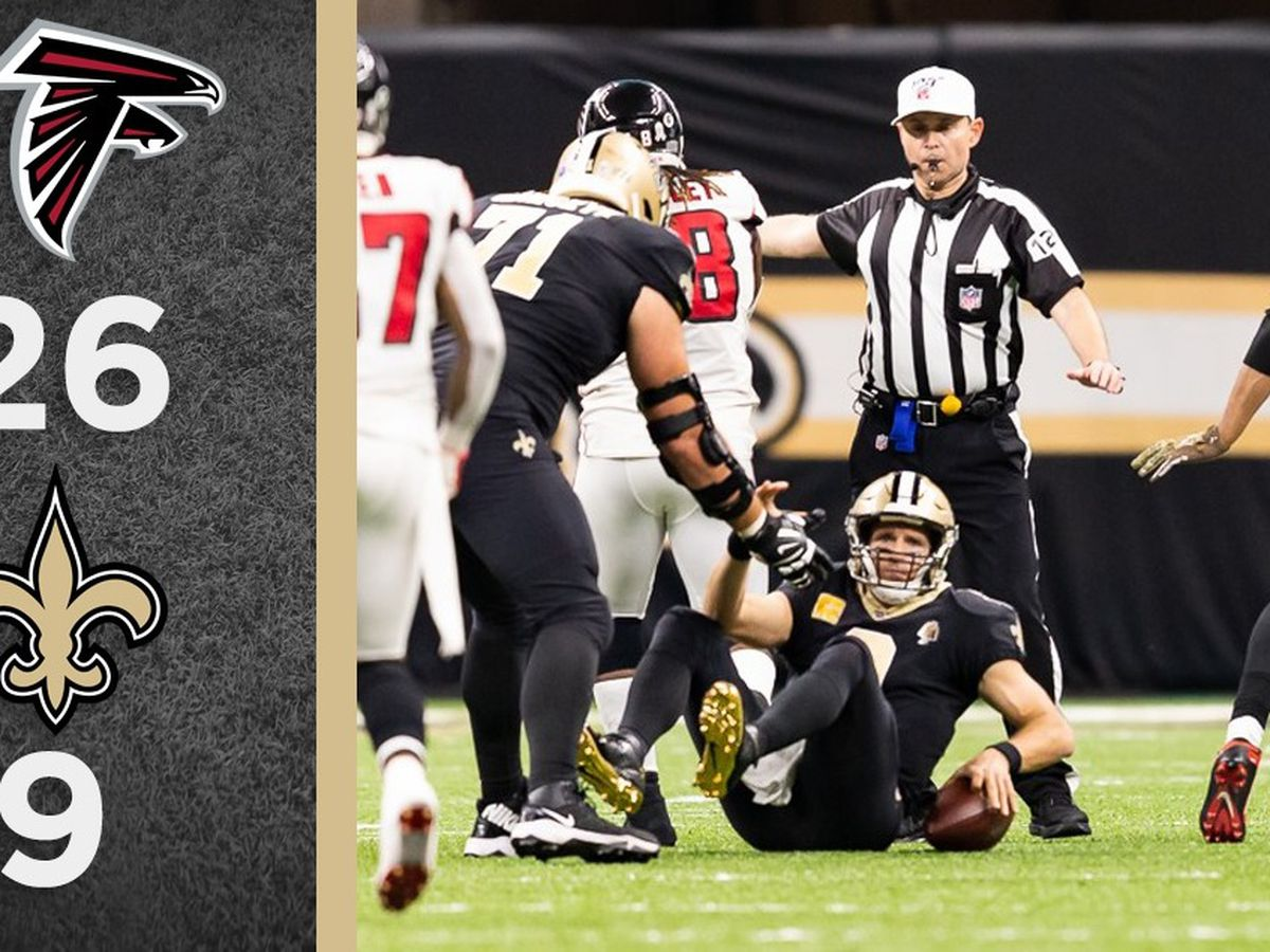Overtime Podcast #101 - Saints fall flat against Falcons