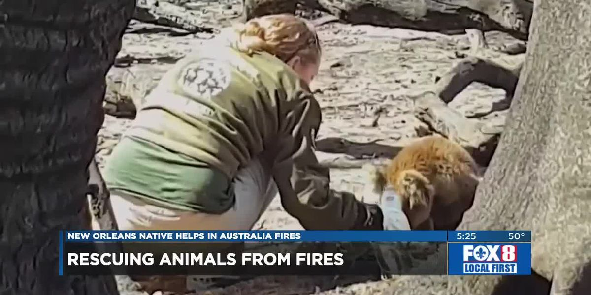 Local Man Helps with Australia Fires