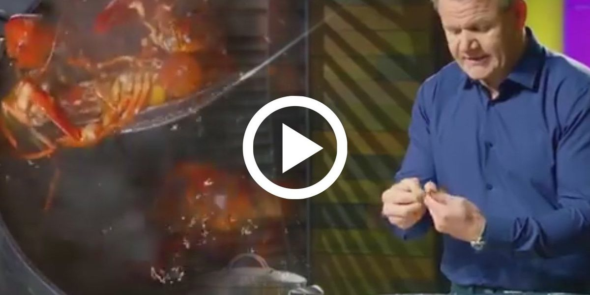 VIDEO: Gordon Ramsay 'boils' crawfish; Louisiana recoils in horror
