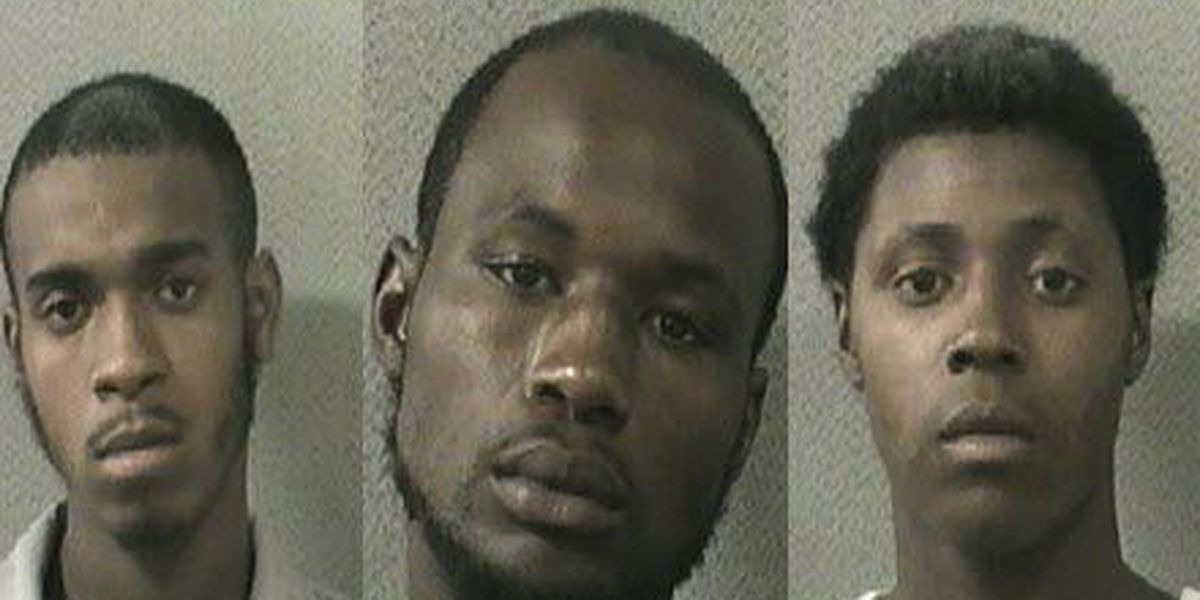NOPD: Three arrested on drug, gun, stolen property charges