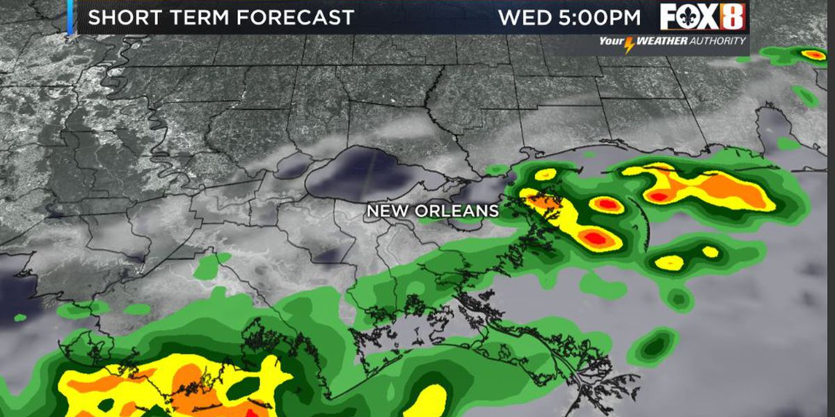 Bruce: Rain chances lower as we go through the day-Cold front brings drier skies and lower humidity