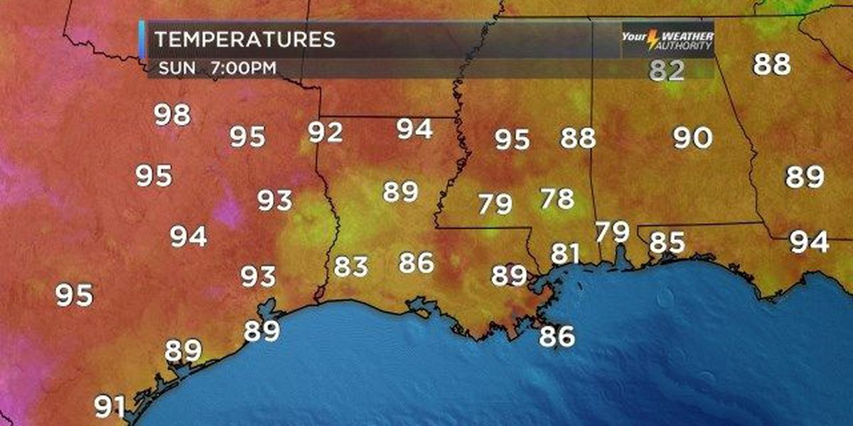 Nicondra: Hot Sunday afternoon, but a few isolated storms are helping