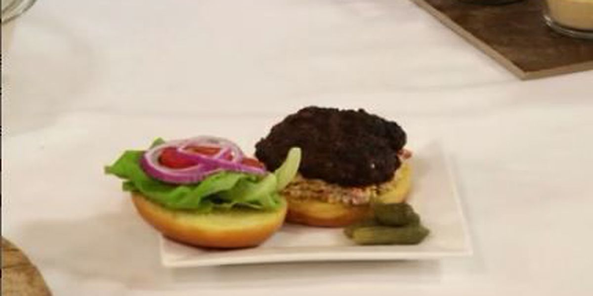 Chef John Folse: Pimiento cheeseburgers