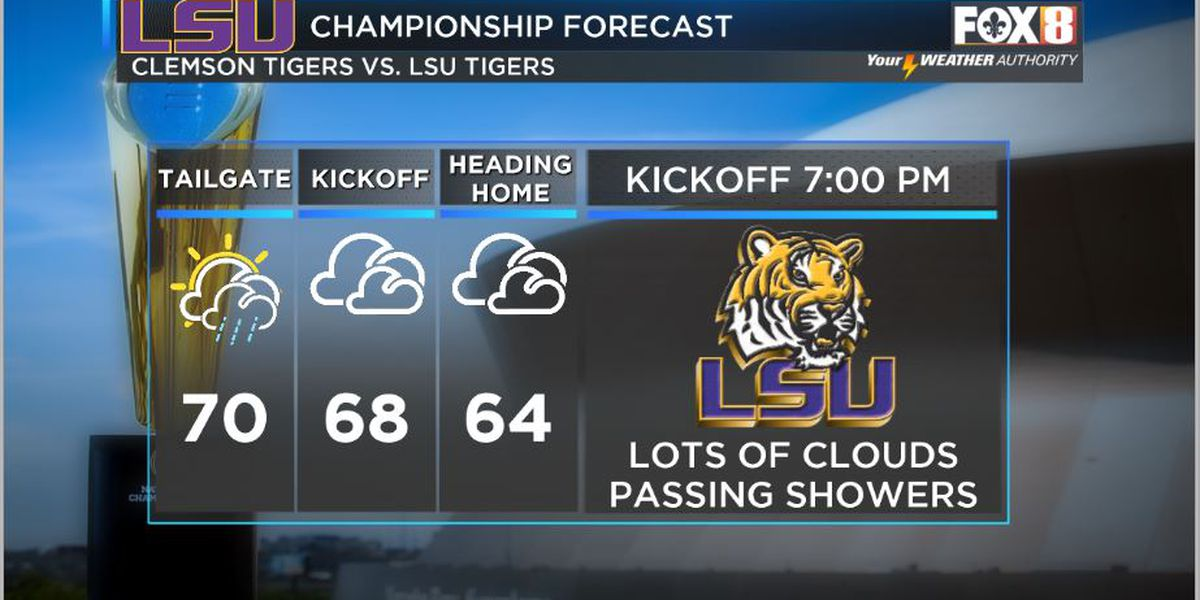 Nicondra: Wet weather holds on for most of Monday as fans get ready for CFP Championship