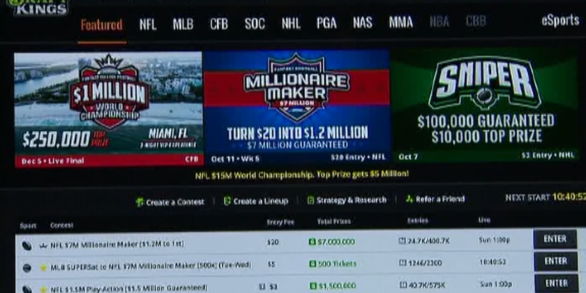 State lawmakers begin debating taxes, fees for fantasy sports betting