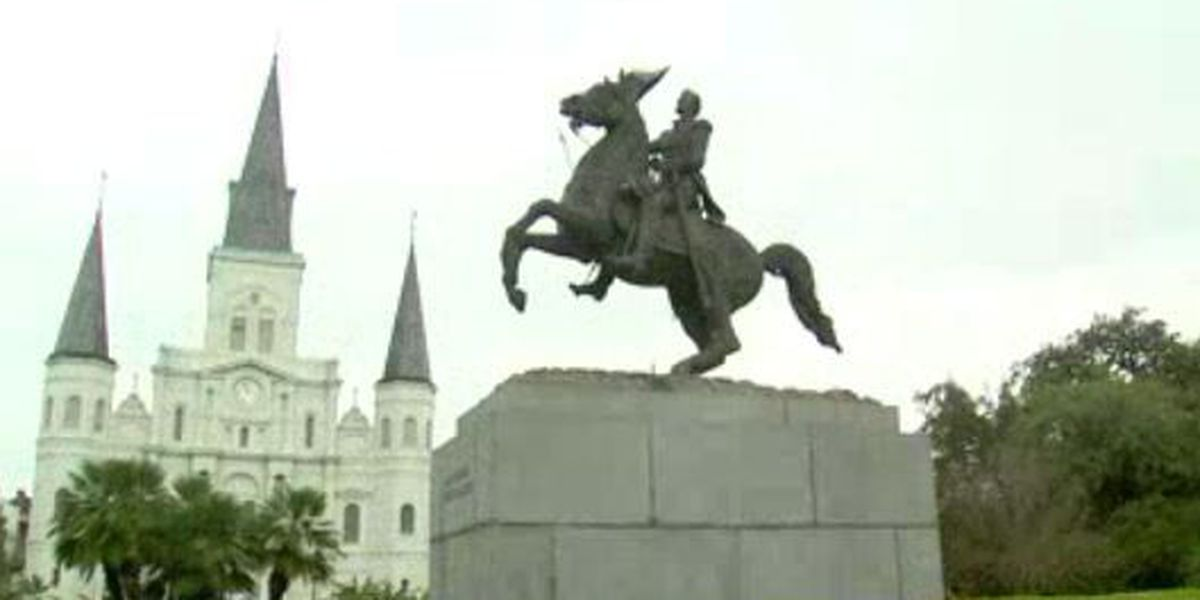 Group promises to rip down Andrew Jackson statue