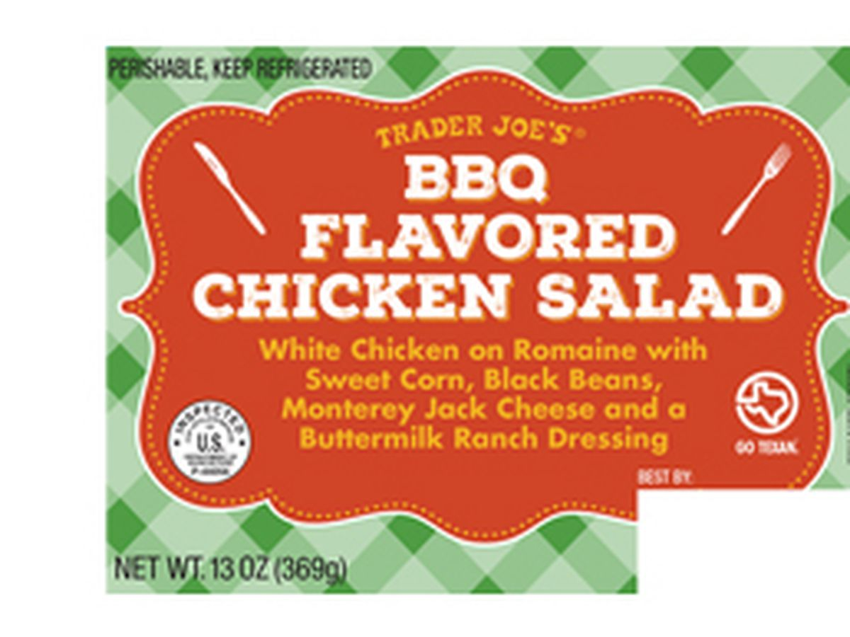 Trader Joe's recalls salad due to possible Listeria, Salmonella contamination