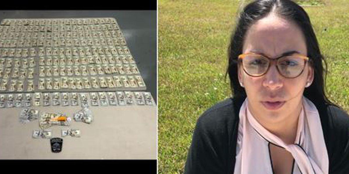Bond attempt leads to arrest, seizures of drugs and cash