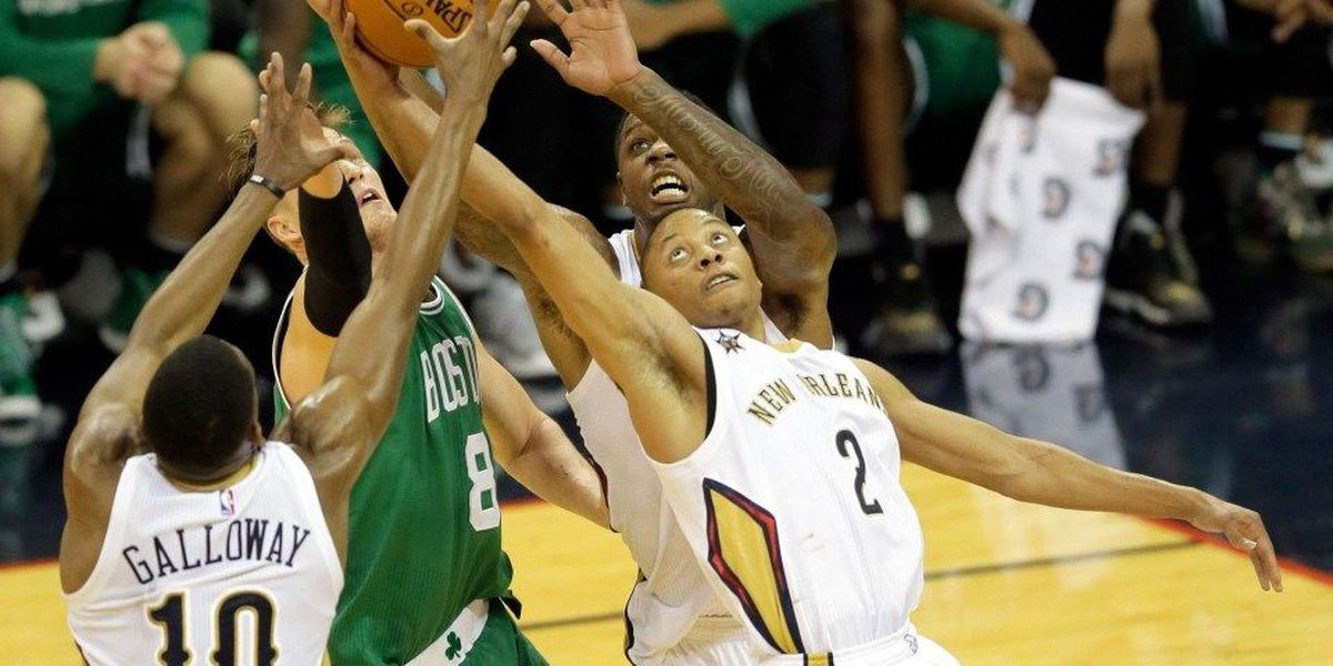 Pelicans snap home losing streak by defeating Celtics