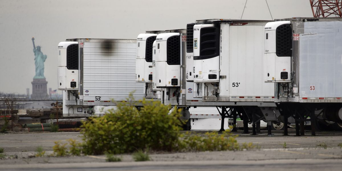 NYC still storing COVID-19 victims in refrigerated trucks