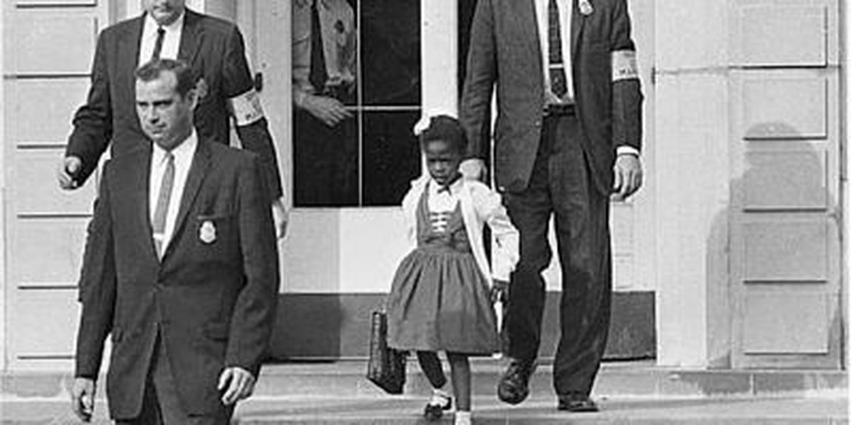 Statue celebrates a little girl's big impact on civil rights