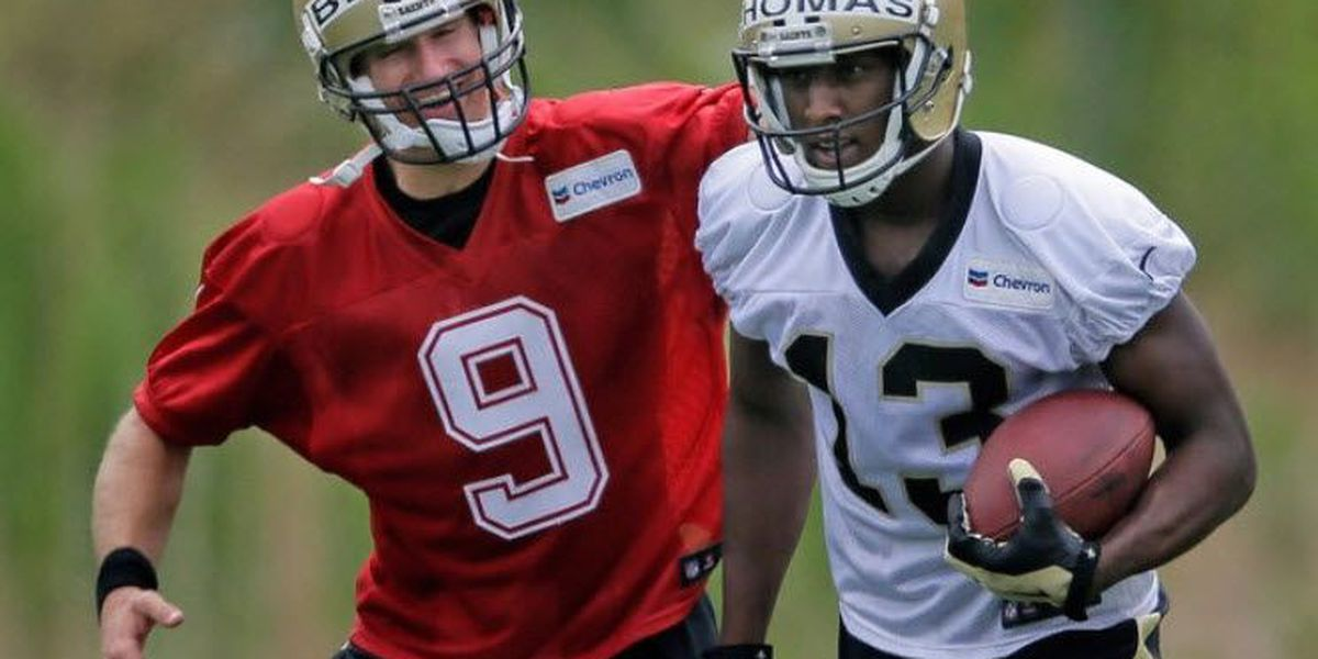 One-handed catches by Michael Thomas gain Saints' attention