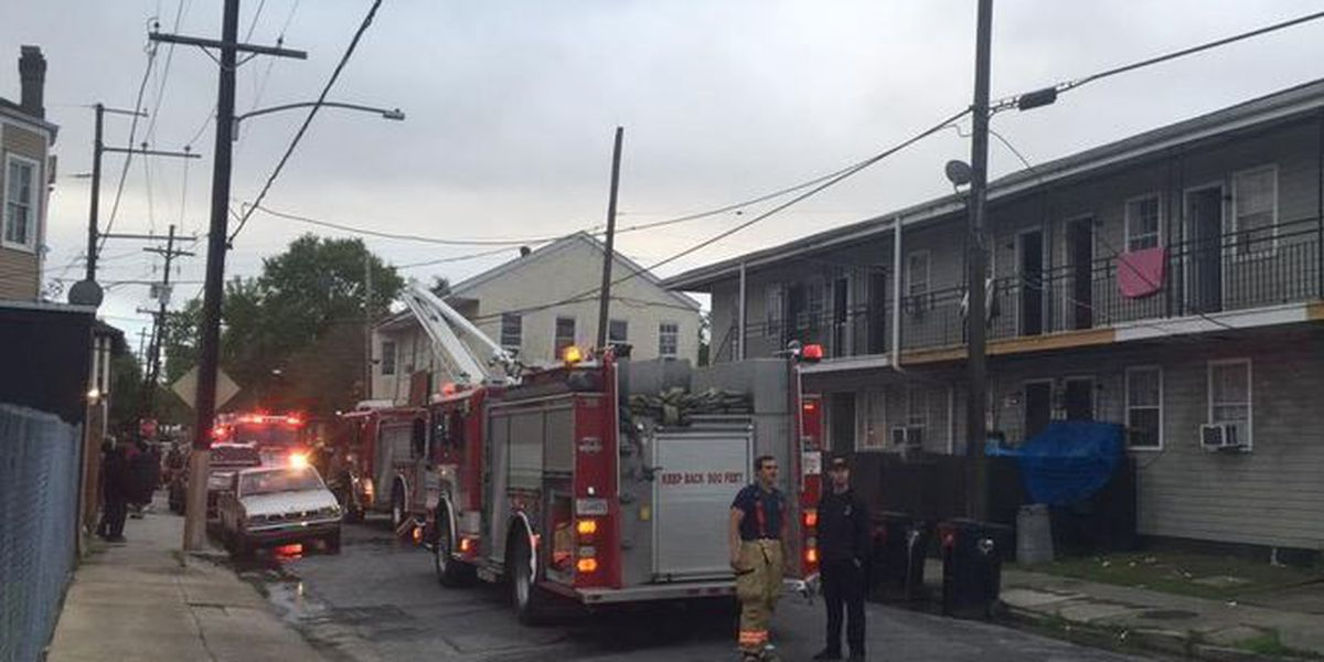 At least 19 displaced in Central City apartment fire